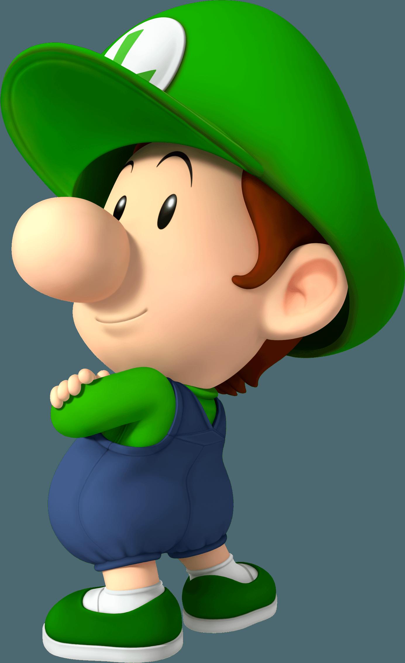 Mario super sluggers wii artwork featuring all the team - Bebe mario et bebe luigi ...