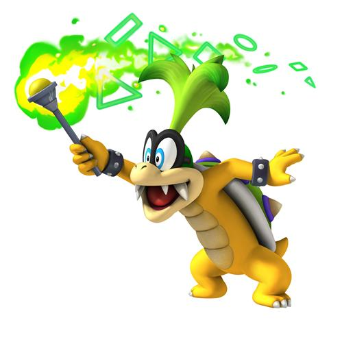 Iggy Koopa With Torch