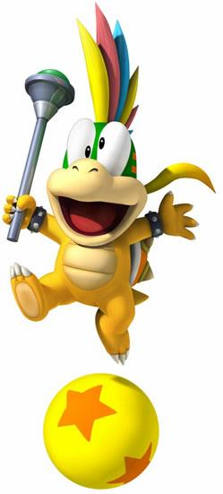 Lemmy Koopa With Crossed Eyes
