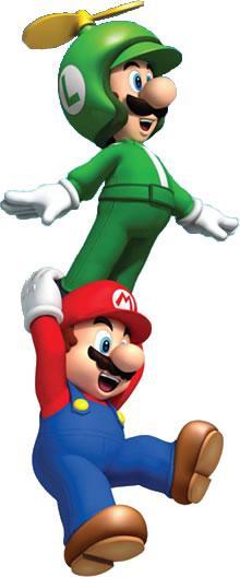 Propeller  Luigi and Mario