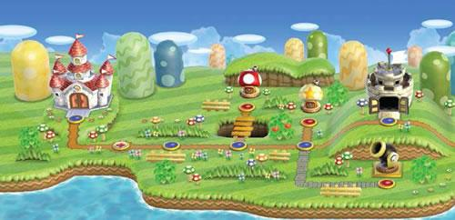 New Super Mario Bros Wii, World 1: Grass Land