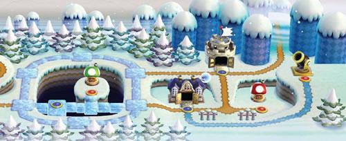 New Super Mario Bros Wii, World 3: Ice Land