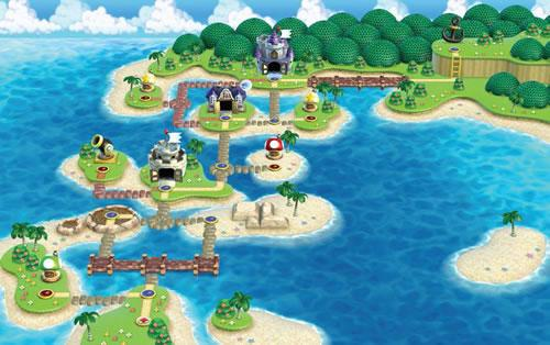 New Super Mario Bros Wii, World 4: Water Land