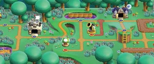 New Super Mario Bros Wii, World 5: Forest Land