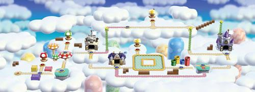 New Super Mario Bros Wii, World 7: Sky Land