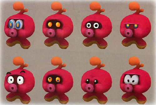 Many expressions of an Octoguy