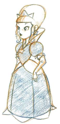 Rosalinas early design
