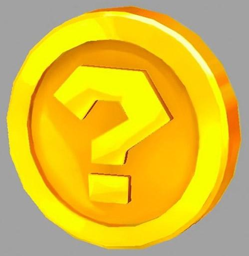 Questioning coin