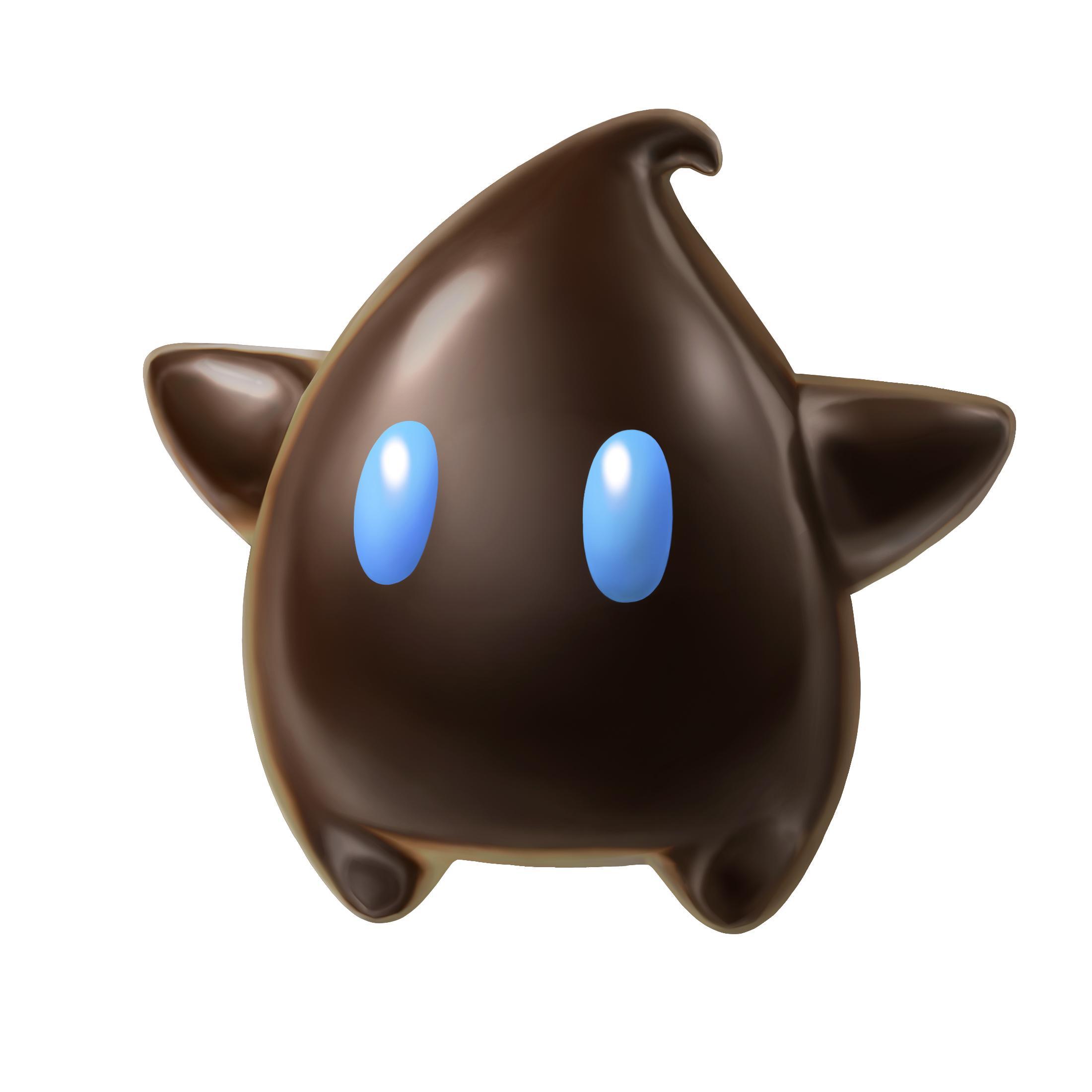 Super Mario Galaxy Wii Artwork Including Mario Lumas