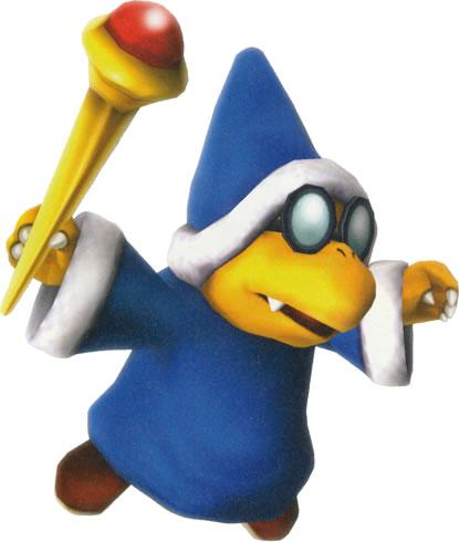 Magikoopa With His Stick