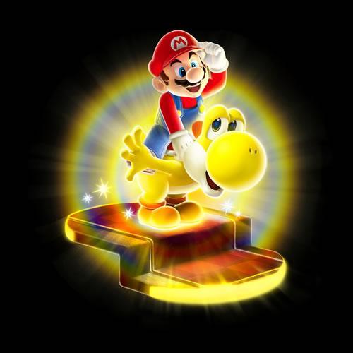 Mario on Bulb Yoshi