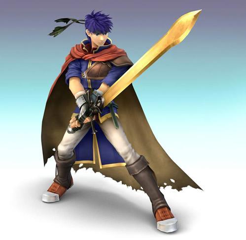 Ike Holding Sword