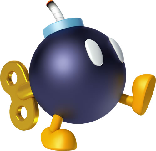 Bob Omb Walking