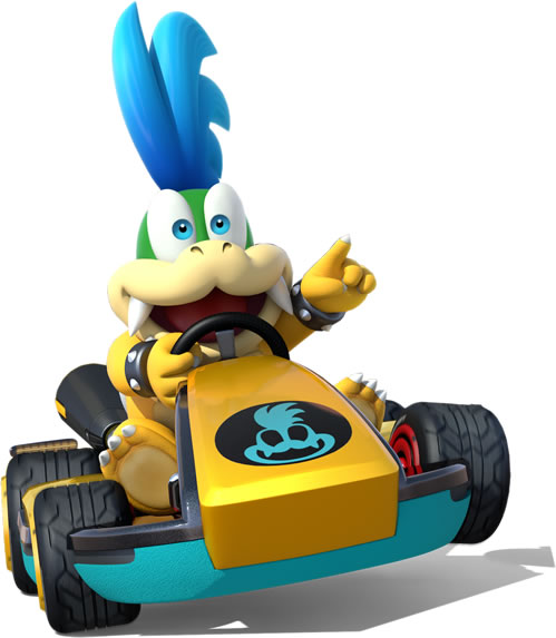 Larry Koopa Driving kart