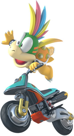 Lemmy Koopa On Motorcycle