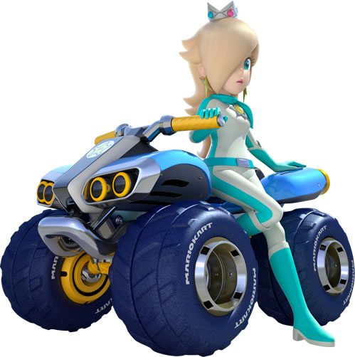 Rosalina On Her 4 wheeler