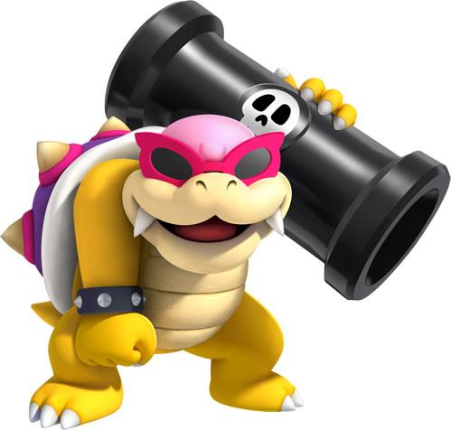 Roy Koopa holding a Bill Blaster