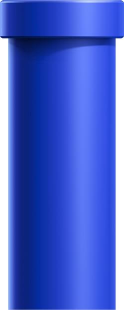 Blue Warp Pipe
