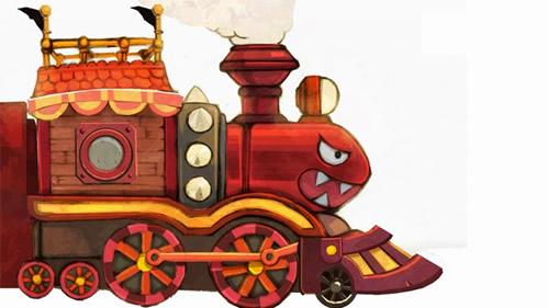 Bullet Bill Train