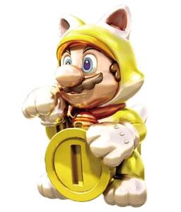 Golden Statue Mario