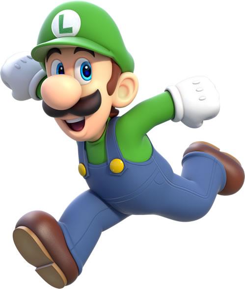 Luigi Running