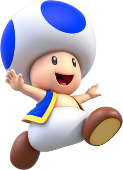 Happy Toad Jumping