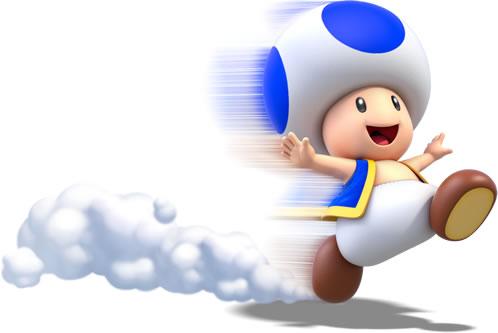 Toad Running