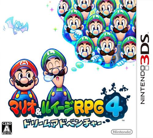 Mario & Luigi Dream Team japanese box art