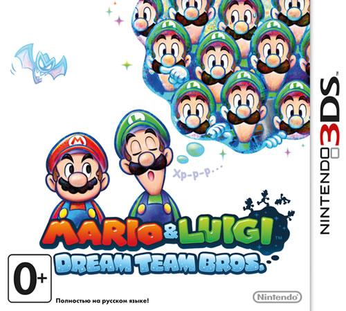 Mario & Luigi: Dream Team Russian box art
