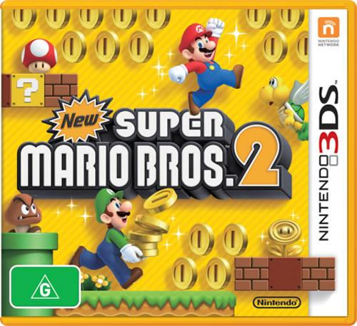 New Super Mario Bros. 2 box art (Australian)