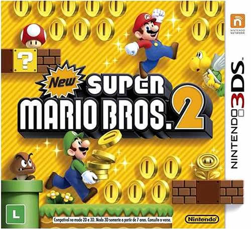 New Super Mario Bros. 2 box art (Brazillian)