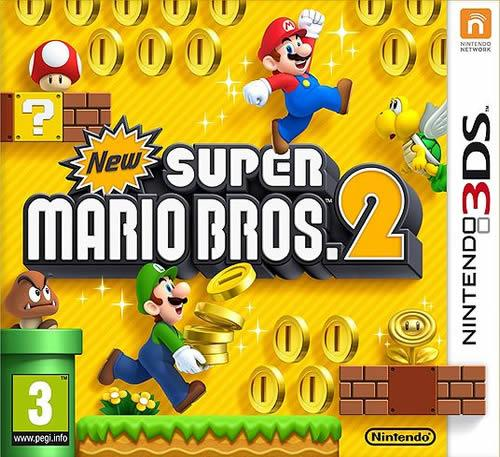 New Super Mario Bros. 2 box art (European/PAL)