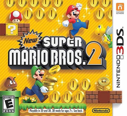 New Super Mario Bros. 2 box art (USA)