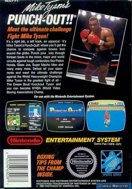 Mike Tyson Punch Out Wii : Punch out nes box art
