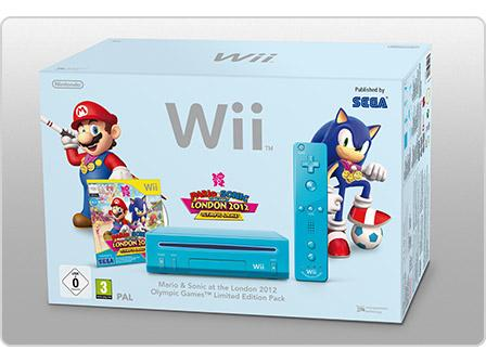 The London 2012 Edition Wii Mario & Sonic bundle box