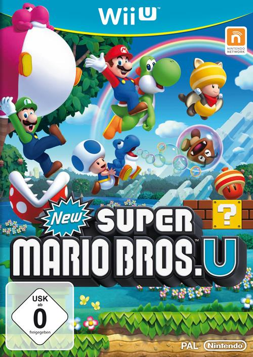 German Box Art for New Super Mario Bros U