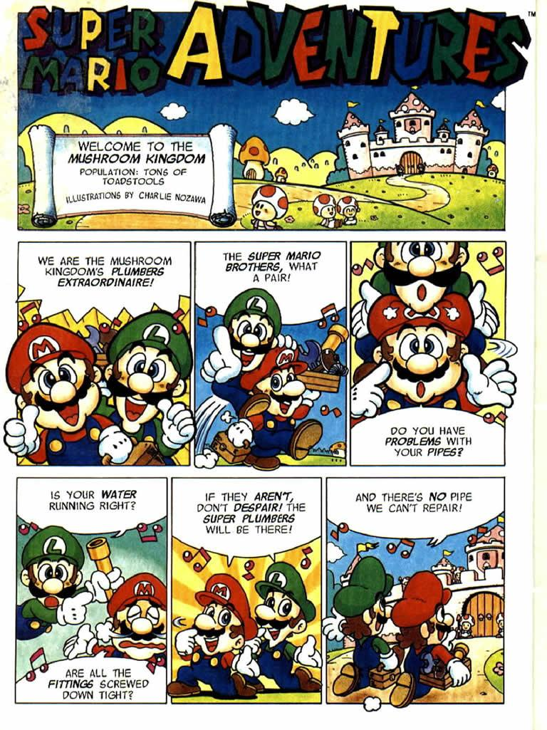 Want to find out what happens next? check out Super Mario Adventure ... Nes Games Wallpaper
