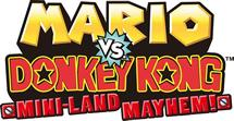 Mario vs. Donkey Kong: Mini Land Mayhem small logo