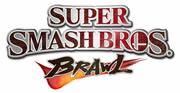 Super Smash Bros Brawl logo wii