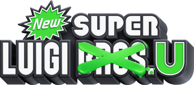 New Super Luigi U game logo