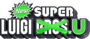 New Super Luigi Wii U logo