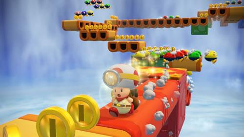 Captain Toad is not afraid of even the most treacherous paths