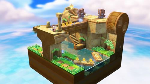 Captain Toad: Treasure Tracker Wii U Screenshot 1