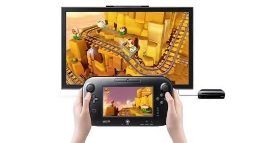 Captain Toad: Treasure Tracker for Wii U using the GamePad