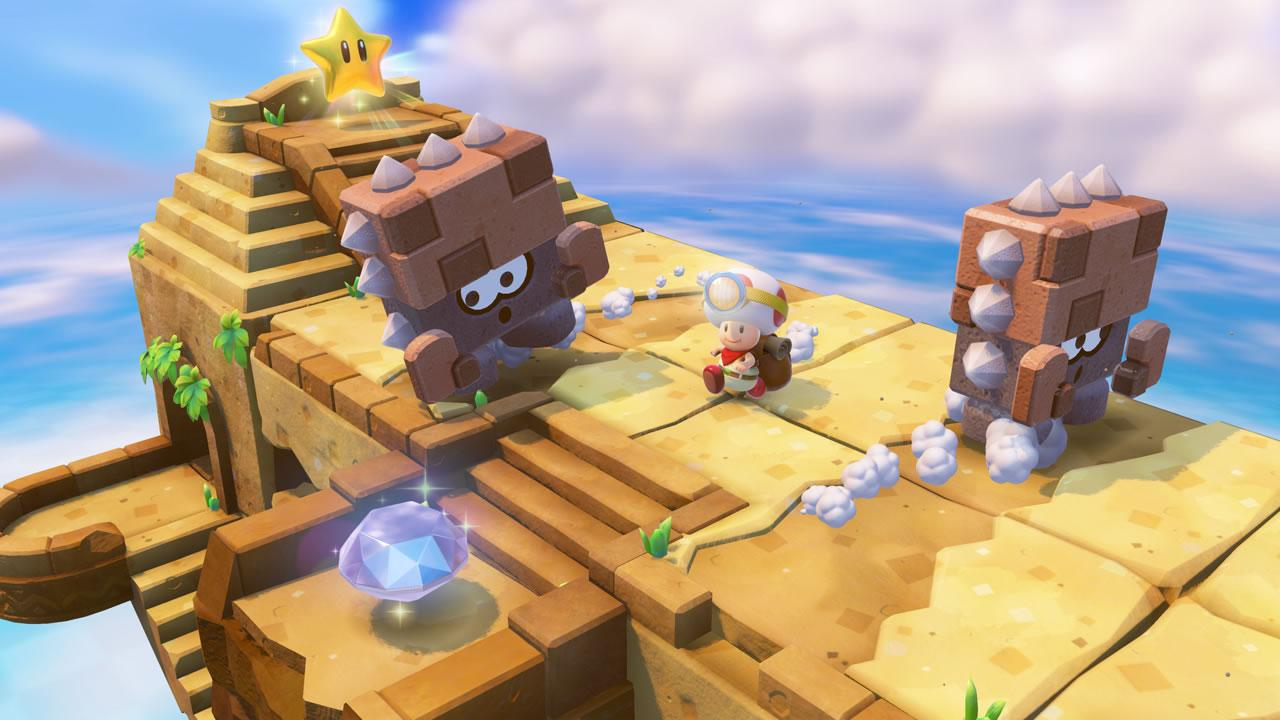 Captain toad treasure tracker wii u screenshots