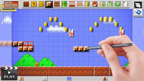 Mario Maker for Wii U screenshot 1