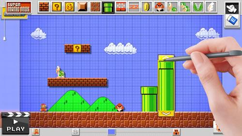 Mario Maker for Wii U screenshot 2