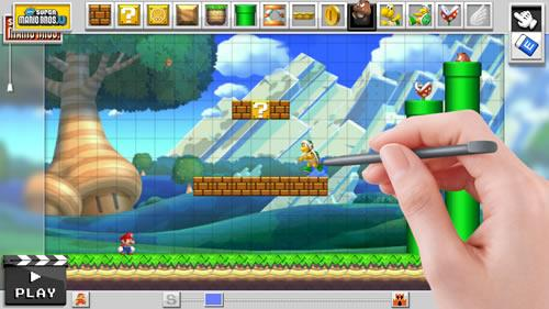 Mario Maker for Wii U screenshot 4