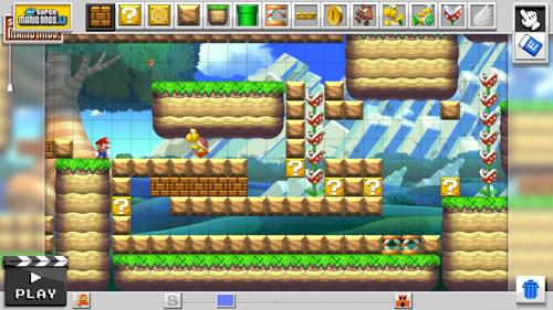 Mario Maker for Wii U screenshot 6