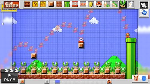 Mario Maker for Wii U screenshot 7